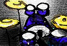 Drums- image copyright 2004 Lisa Onizuka http://cleanwebdesign.com