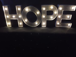 HopeLiteUpSignLit