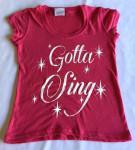 """Wildberry Glitter """"Gotta Sing"""""""