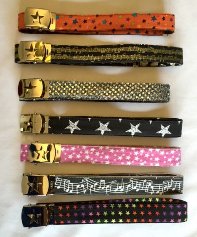 Belts with Star Buckle