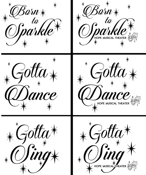 Gotta Sing, Gotta Dance, Born to Sparkle